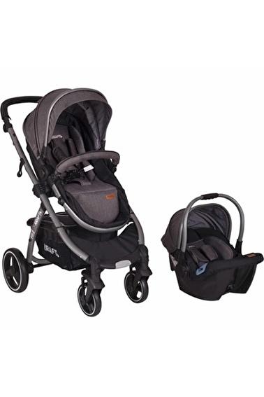 Kraft Bebek Arabası Siyah